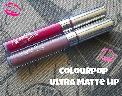 ColourPop Ultra Matte Lip in Trap & Mars