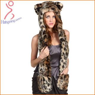 Leopard spirit hoods