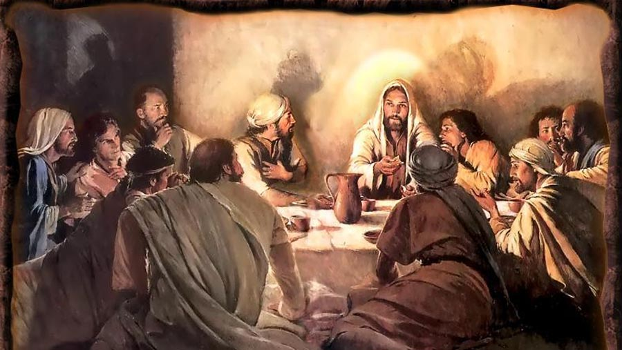 the two last suppers 13 jesus said to two of the disciples,  bread), tell the story of the last supper from the above texts discuss with students what they might have seen, heard.