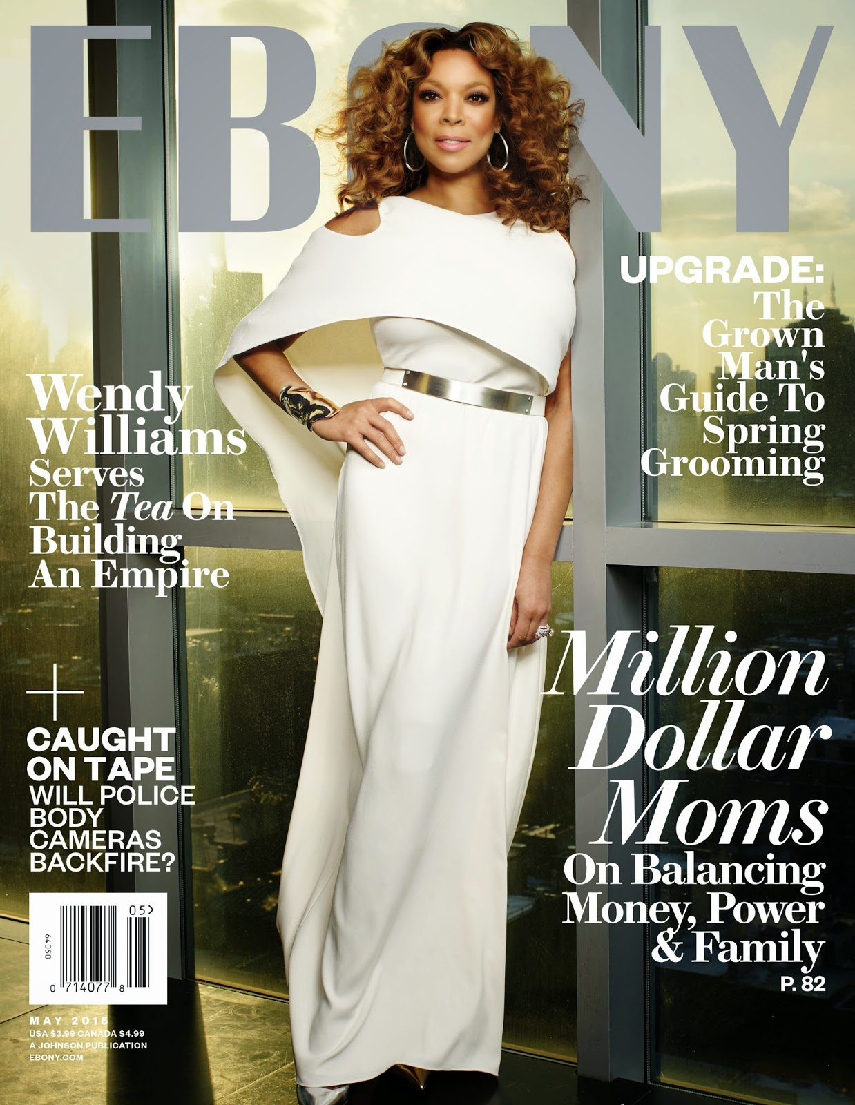 Television Host, Actress, Producer, Comedian @ Wendy Williams - Ebony May 2015