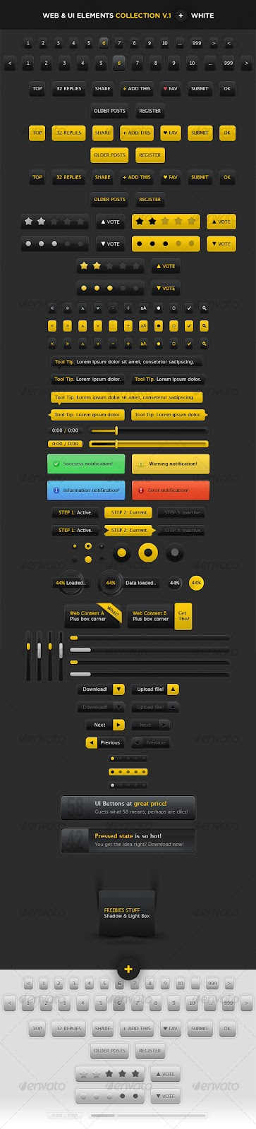 User Interface Elements for Web