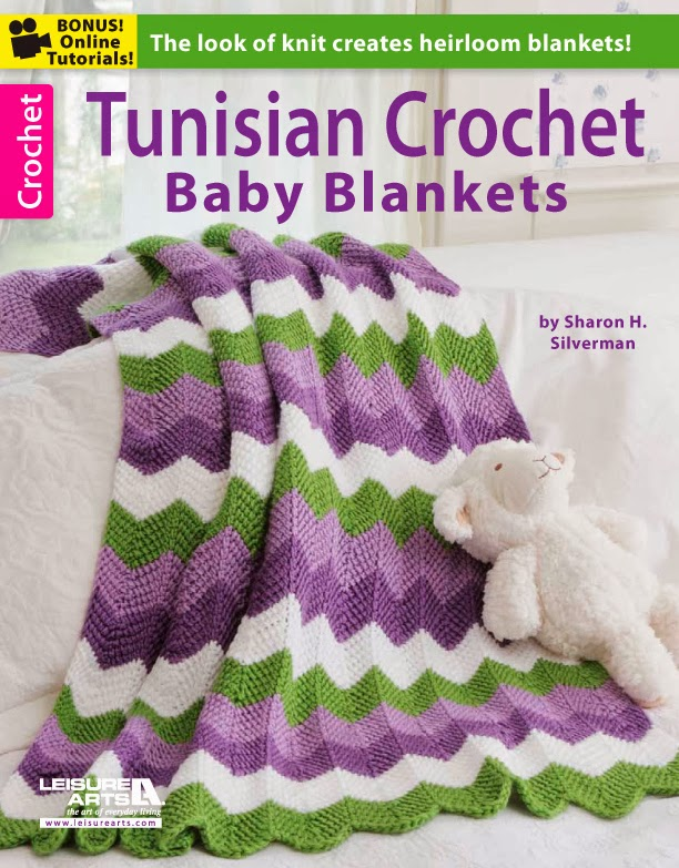 Baby Afghan Patterns To Crochet : Book Review: Tunisian Crochet Baby Blankets by Sharon H ...