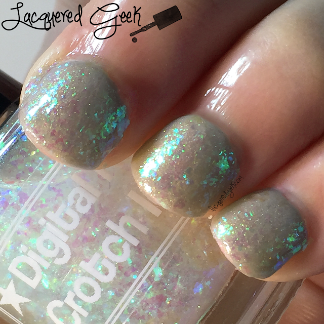 Digital Nails Crotch Ice nail polish swatch and review by Lacquered Geek