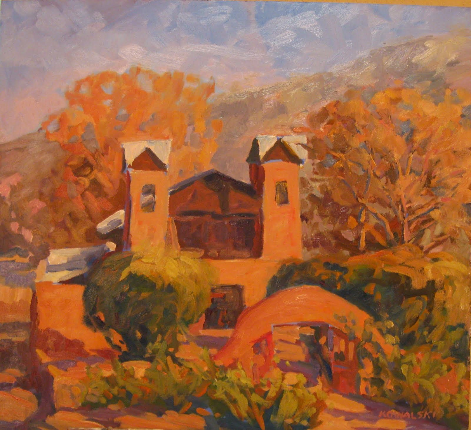 Sanctuario at Chimayo, NM