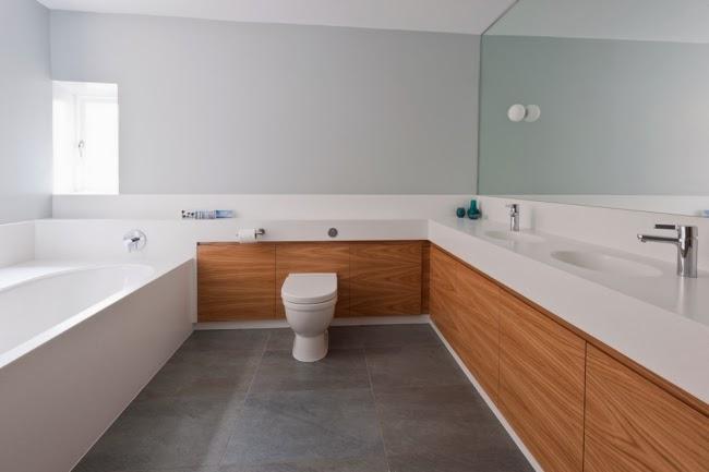 Baños Minimalistas Fotos Diseno:Pocos muebles y accesorios decorativos es la característica principal