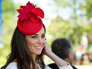 Catherine, Duchess of Cambridge, arrives for a citizenship ceremony in Gatineau, Canada, on July 1, 2011.