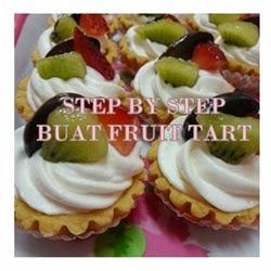 RESEPI FRUIT TART
