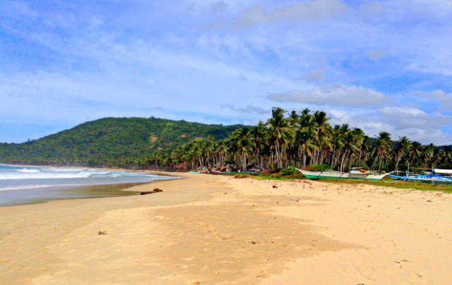 Nacpan Calitang Twin Beach El Nido