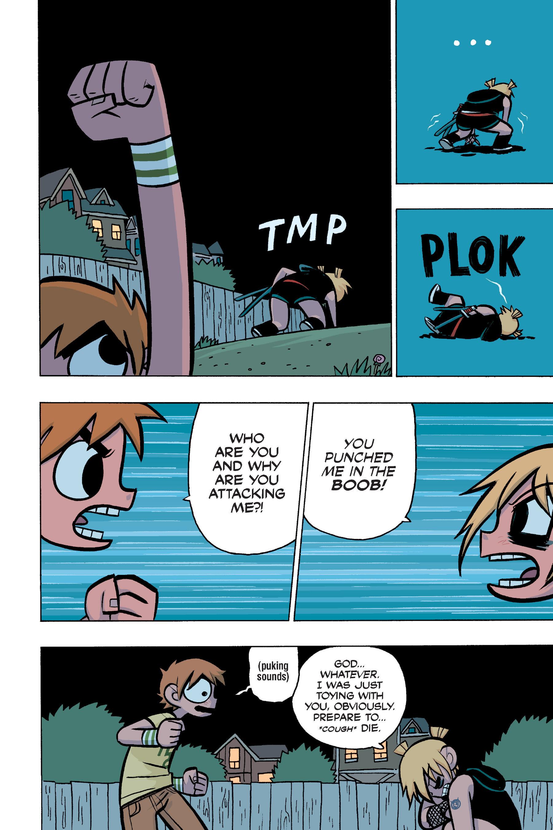 Read online Scott Pilgrim comic -  Issue #4 - 95