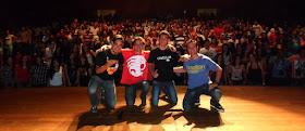 Diogo Almeida, Eu, Igor Guimarães e Rogério Vilela