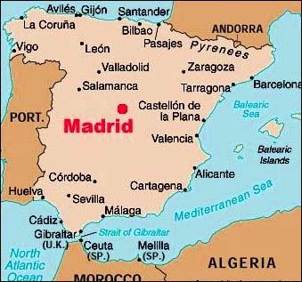 Mr. Jones\' Adventures in Spain!: Map of Madrid