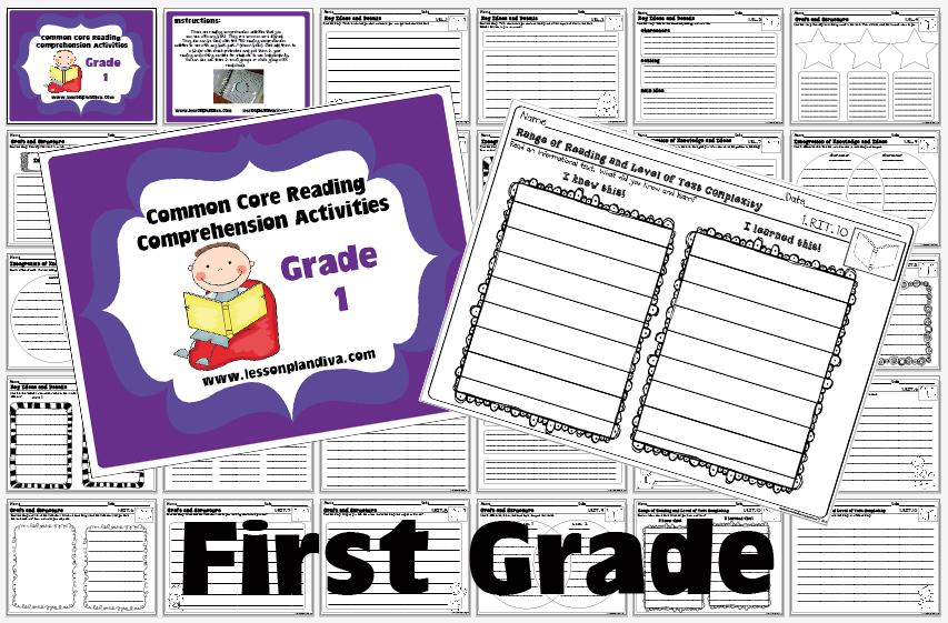 4th grade printable reading games