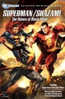 Superman Shazam The Return Of The Black Atom