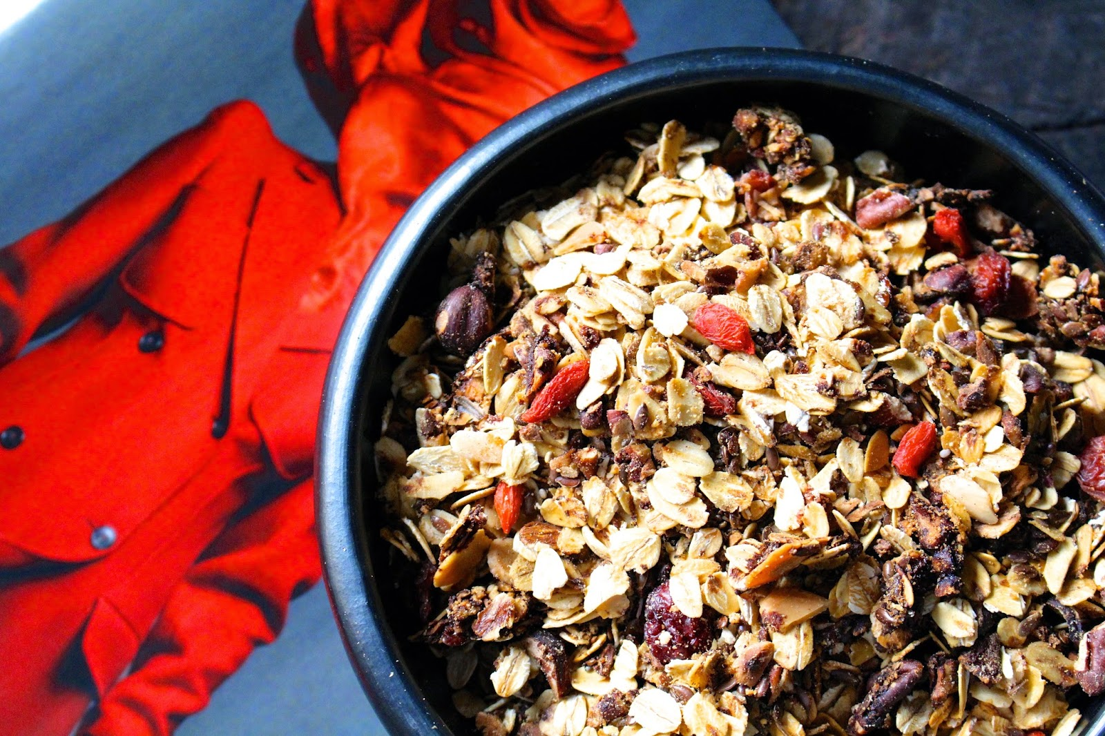 Festive winter granola