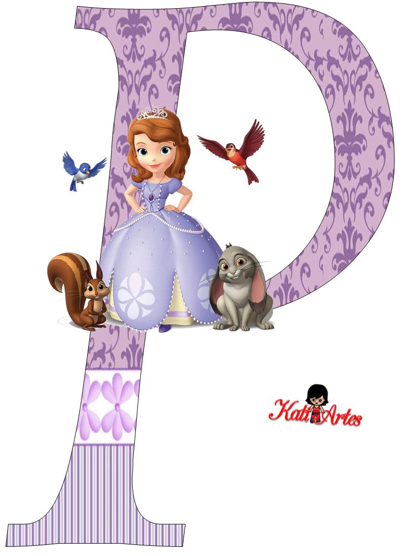Lindo Alfabeto De Princesa Sofa Oh My Alfabetos