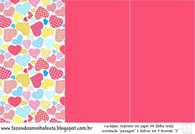 Muito Dia dos Namorados - Kit Completo com molduras para convites  TK64