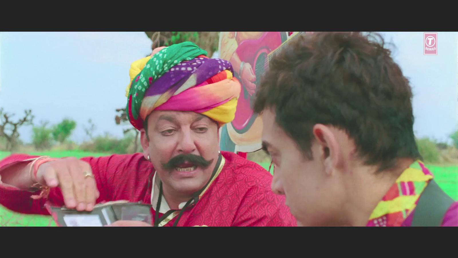 Tharki Chokro - PK (2014) ft. Aamir Khan Sanjay Datt 1080p Full HD Video Song Official