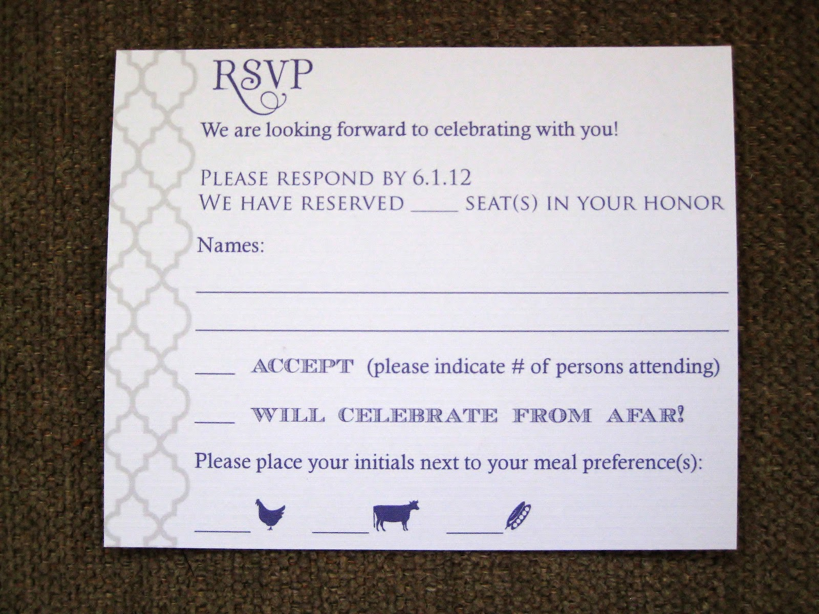 How To Fill Out Wedding Invitations | Party Invitations Ideas