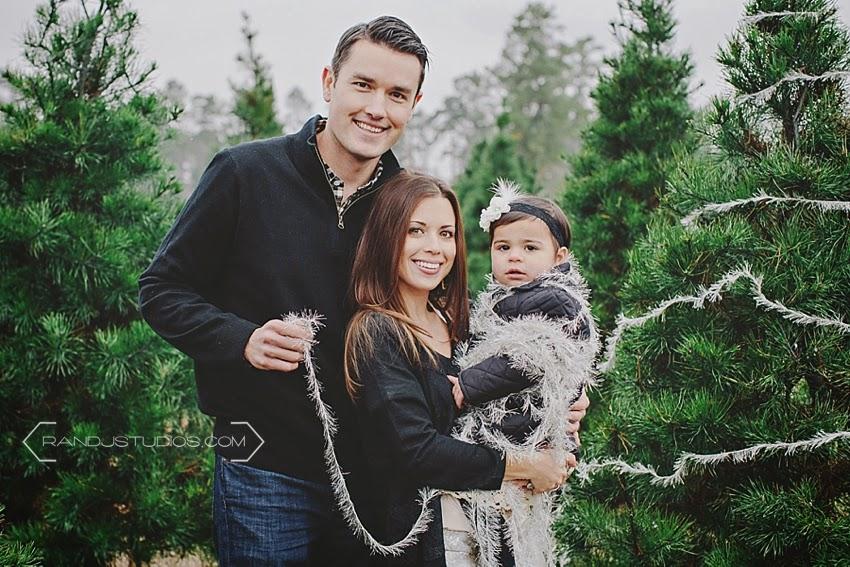 Houston Christmas photography session, Spring Creek Growers Christmas Tree Farm