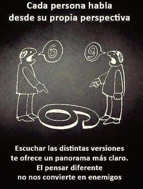 Distintos puntos de vista