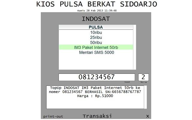 Image Result For Kios Pulsa