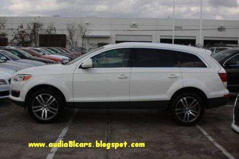 audi q7 white 2010. Audi Q7 2010 White
