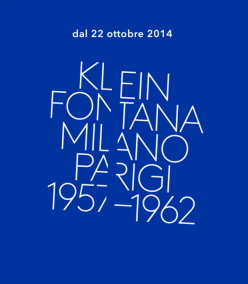 Acquista i biglietti per la Mostra Klein Fontana al Museo del Novecento di Milano