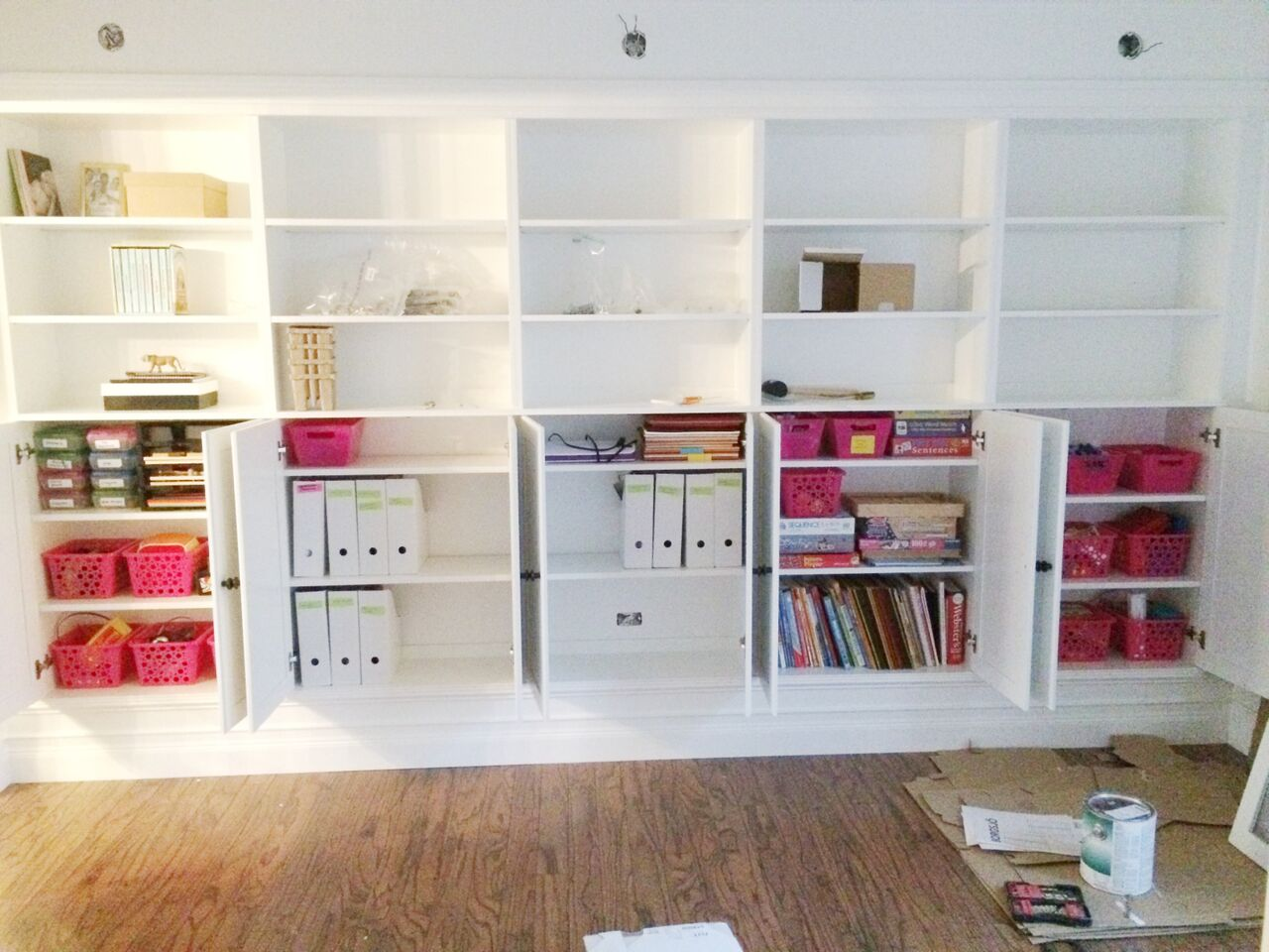 Wonderful image of 15 step fifteen put on doors and knobs put the doors on the ikea  with #9F2C34 color and 1280x960 pixels