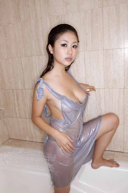 Mai Nishida Japanese Girl Hot Dress