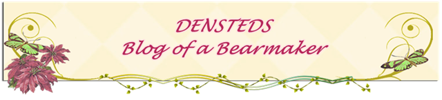 DENSTEDS ARTIST BEARS by DENISE