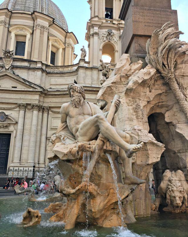 Piazza Navona - Brunnen