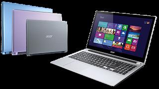 harga Acer Aspire Slim V5-122P