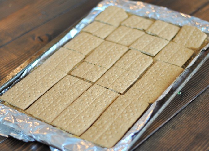 graham cracker coconut picnic bars