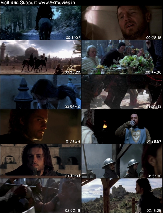 Kingdom of Heaven 2005 Dual Audio Hindi 720p BRRip 900mb