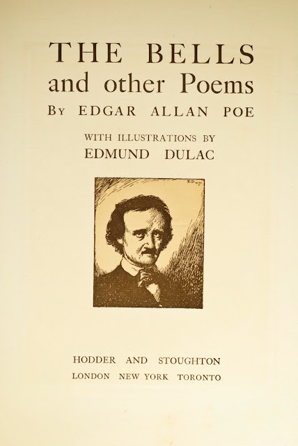 1912 The Bells and Other Poems by Edgar Allan Poe