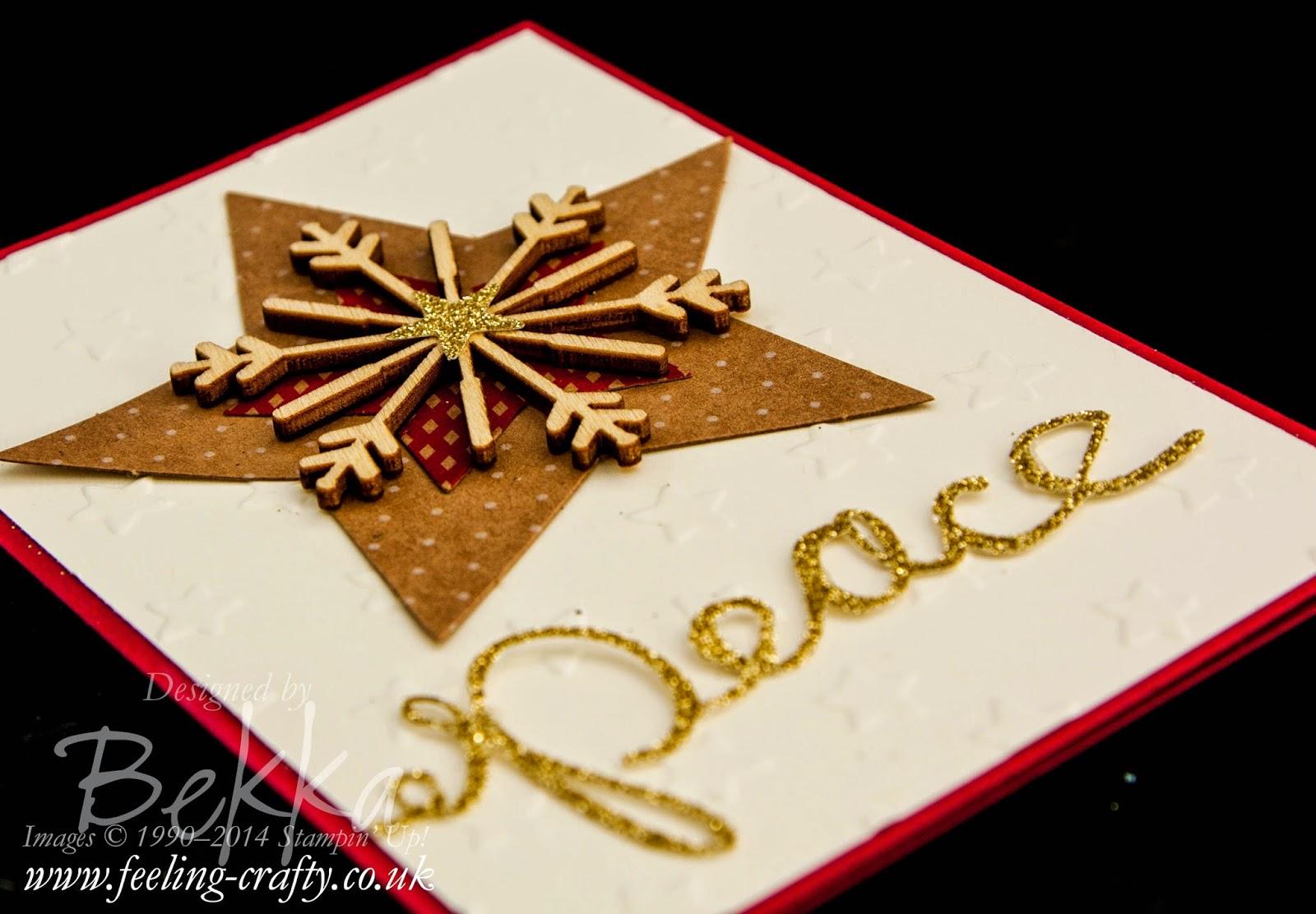 Many Merry Stars Simply Created Kit - A Card