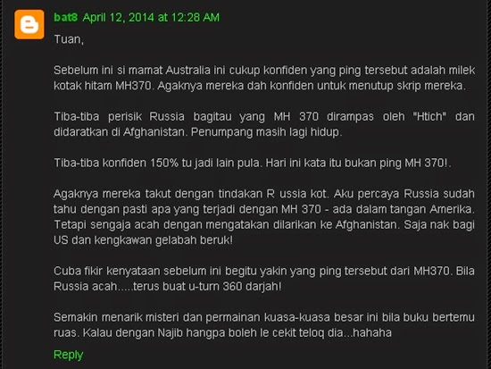 Amerika, Rusia, China, MH370