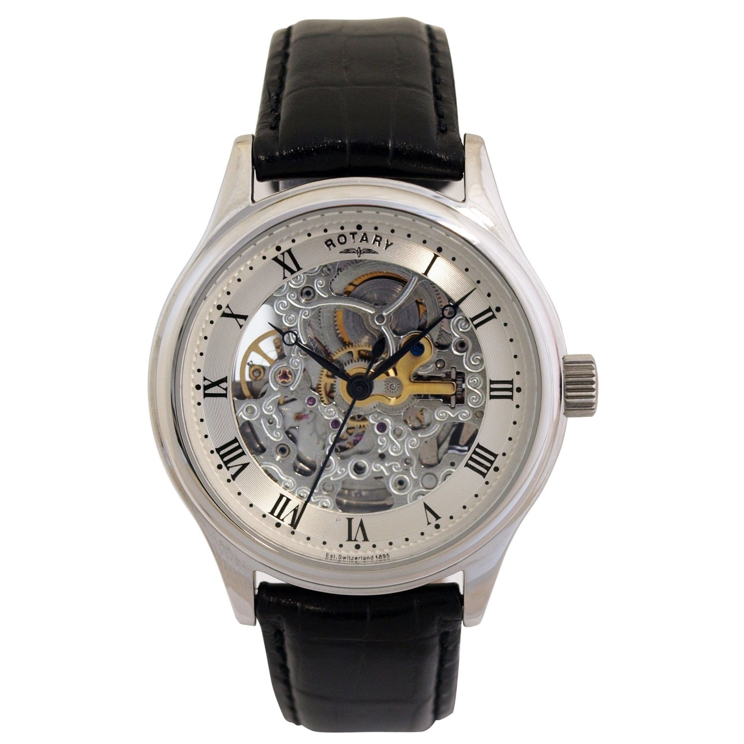 Rotary Men s Automatic Watch GS02518 06  Picture Specs Price and VideoRotary Watches Price
