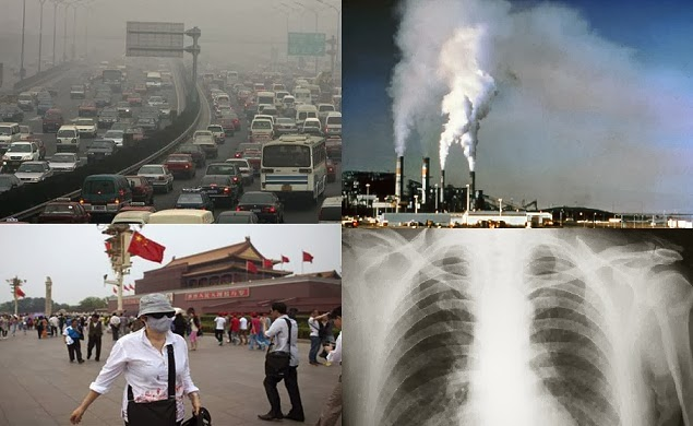 Air pollution causes lung cancer