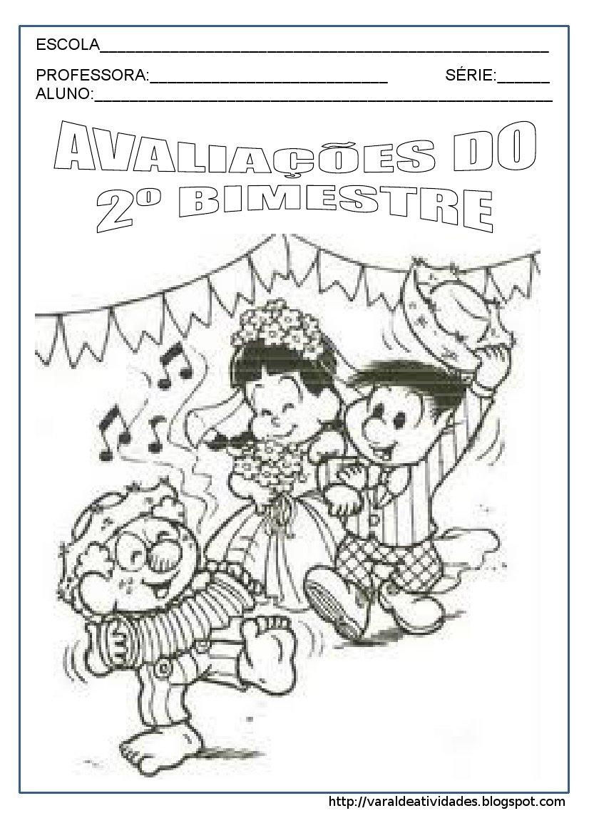 CAPA DE AVALIA    O 2   BIMESTRE