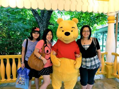 Hong Kong Disneyland Winnie the Pooh Meet and Greet