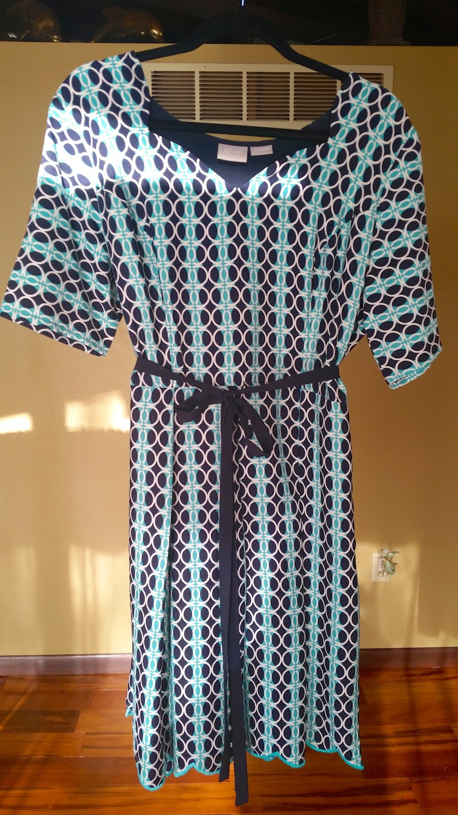 Made to order dress from eShakti