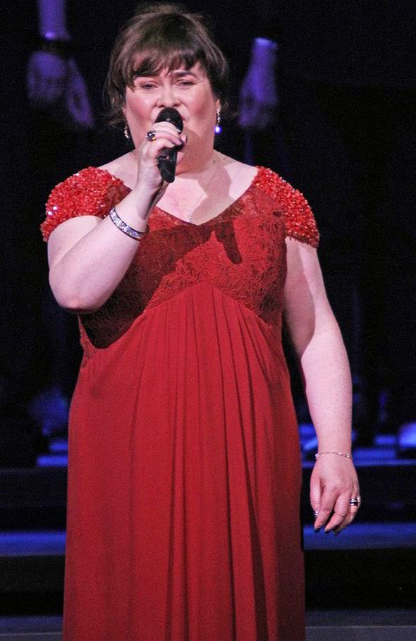 Susan Boyle at Manchester Concert