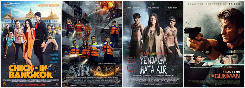 Film Bioskop Tayang Mulai 26 Maret 2015