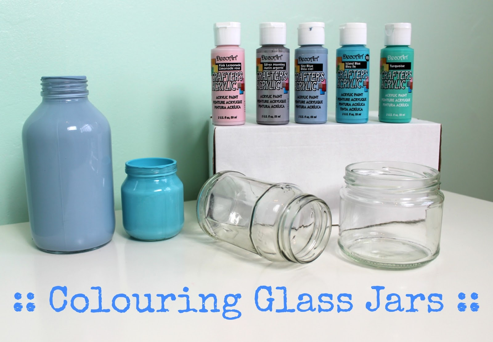 Sprinkle of glitter beauty baby lifestyle for How to paint bottles with acrylic