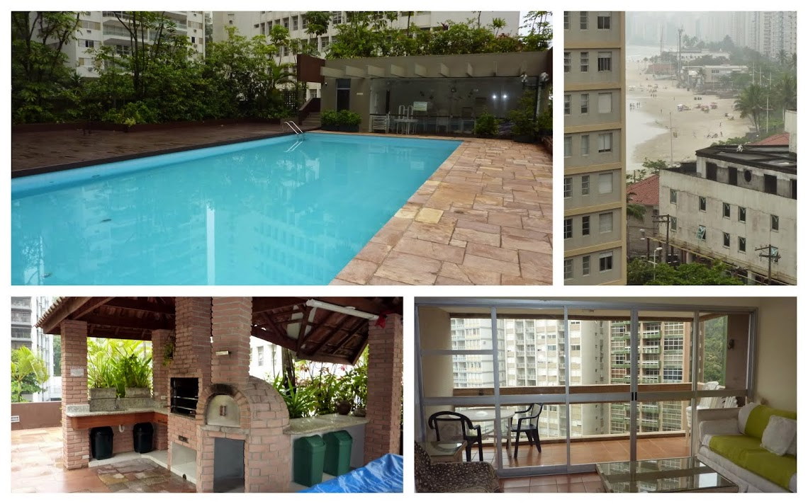 Apartamento para alugar na Praia de Pitangueiras Guarujá