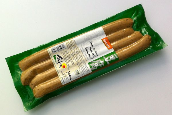 Taifun Herb Grill Sausages (vegan)