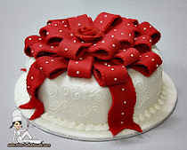 HANTARAN FONDANT CAKE