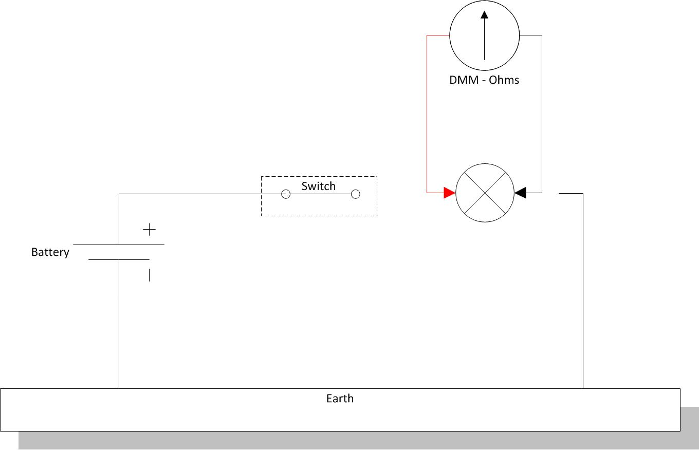 Autoelex Blog Master Your Multi Meter A Basic Tutorial Resistance Measurement Circuit Diagram The For Measuring Is Shown Below And Always Involves Complete Removal Of Component Or Isolation In Order To Make