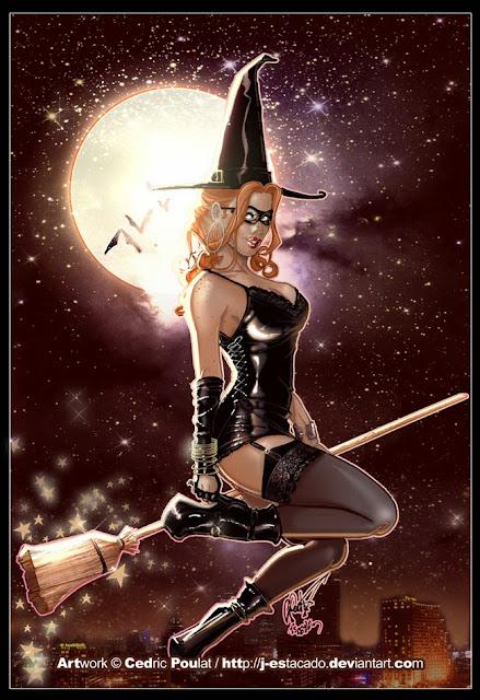 Halloween pin up